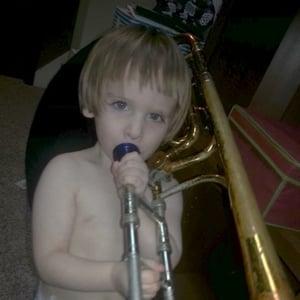 Drew's son aged 2