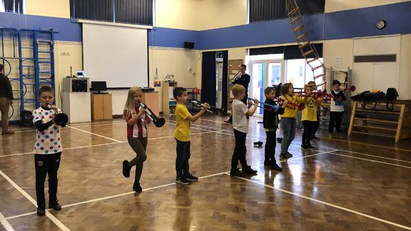 Students at Coit Primary get to grips with pBugle