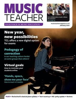 music-teacher-magazine-january-2021-cover