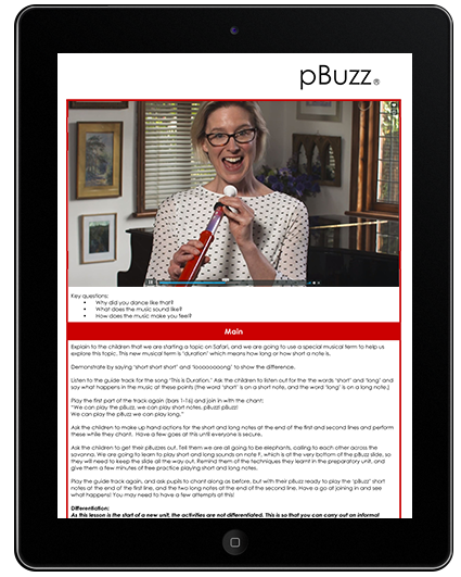 pBuzz Primary School resource