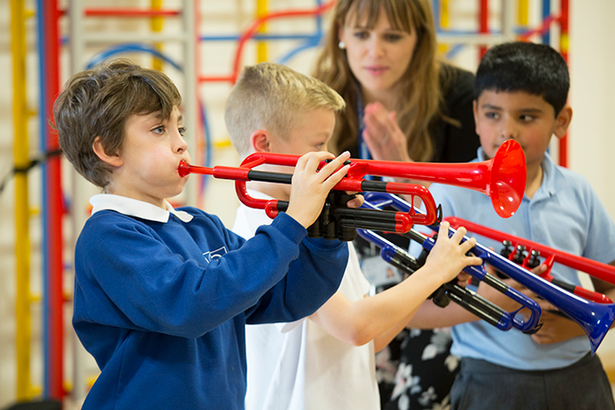 How to play the trumpet